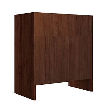 Cooke & Lewis Sorella Walnut Effect Toilet Unit