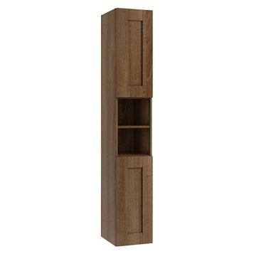 Cooke & Lewis Sorella Walnut Effect Tall Cabinet