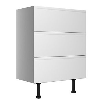 Cooke & Lewis Appleby Gloss White Wide Base Cabinet