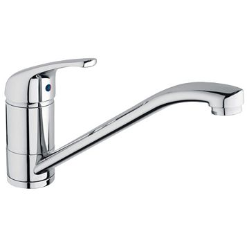 Modern Chrome Single Lever Sink Tap