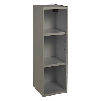 IT Kitchens Anthracite Open Tall Wall Cabinet W 150mm TradePoint