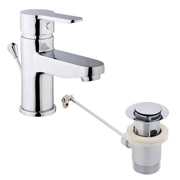 Cooke & Lewis Tahoe 1 Lever Basin Mixer Tap