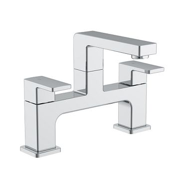 Cooke & Lewis Lincoln Chrome Bath Mixer Tap