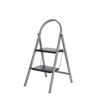 Diall 2 Tread Steel Step Stool, 0.9m