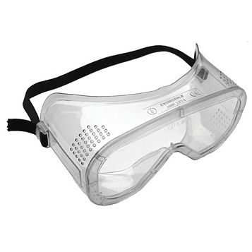 Diall Clear Safety Goggles