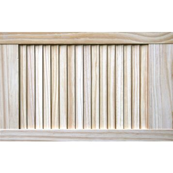 Closed Louvre Pine Internal Door, (H)610mm (W)381mm