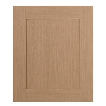 IT Kitchens Westleigh Textured Oak Effect Shaker Integrated Appliance Door (W)600mm