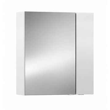 Cooke & Lewis Paolo Gloss White Mirror Cabinet