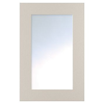 Cooke & Lewis Carisbrooke Cashmere Glazed Door (W)500mm