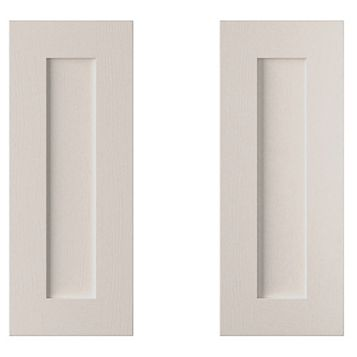 Cooke & Lewis Carisbrooke Cashmere Corner Base (W)925mm, Set of 2