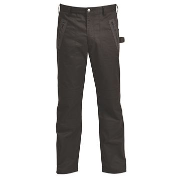 Rigour Black Work Trousers W34