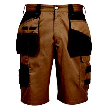 Rigour Brown Holster Pocket Shorts W36