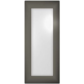 Cooke & Lewis Raffello High Gloss Anthracite Glazed Door (W)300mm