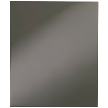 Cooke & Lewis Raffello High Gloss Anthracite Standard Door (W)600mm