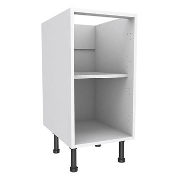 Cooke & Lewis White Standard Base Cabinet (W)400mm