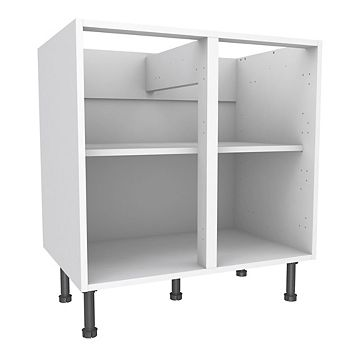 Cooke & Lewis White Standard Base Cabinet (W)800mm