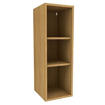 Cooke & Lewis Oak Effect Standard Tall Wall Cabinet (W)300mm