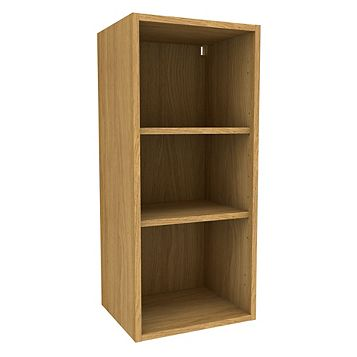 Cooke & Lewis Oak Effect Standard Tall Wall Cabinet (W)400mm