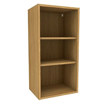 Cooke & Lewis Oak Effect Standard Tall Wall Cabinet (W)450mm