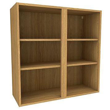Cooke & Lewis Oak Effect Standard Tall Wall Cabinet (W)900mm