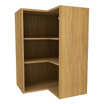 Cooke & Lewis Oak Effect Corner Tall Wall Cabinet (W)625mm