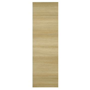 IT Kitchens Marletti Horizontal Oak Effect Tall End Replacement Panel, 570 x 1920mm