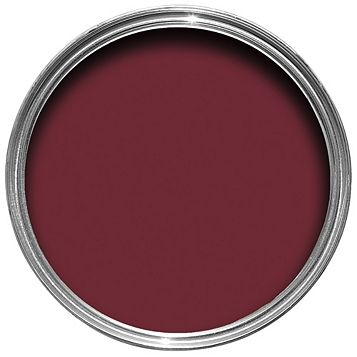 Colours Premium Any Room One Coat Red Velvet Silk Emulsion Paint 2.5L