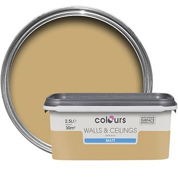Colours Harvest Field Matt Emulsion Paint 2.5L