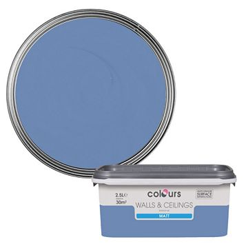 Colours Quay West Matt Emulsion Paint 2.5L