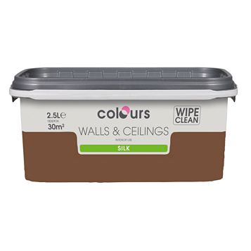 Colours Forest Floor Silk Emulsion Paint 2.5L