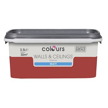 Colours Ladybug Matt Emulsion Paint 2.5L