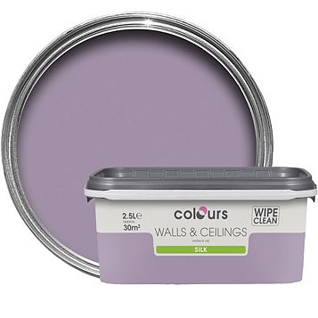 Colours Violette Silk Emulsion Paint 2.5L