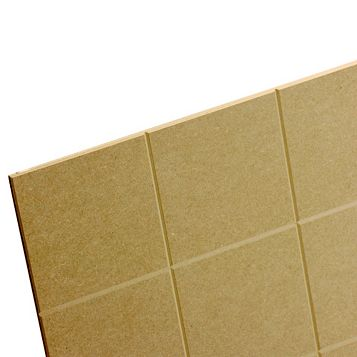 MDF Board (Th)6mm (W)600mm (L)1200mm Pack 6