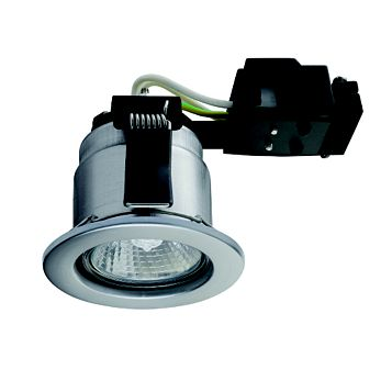 Sylvania Fire Rated Stainless Steel Downlight