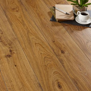 Andante Oak Effect Laminate Flooring 1.72 m² Pack