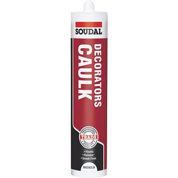Soudal Decorators Caulk Magnolia, 380ml