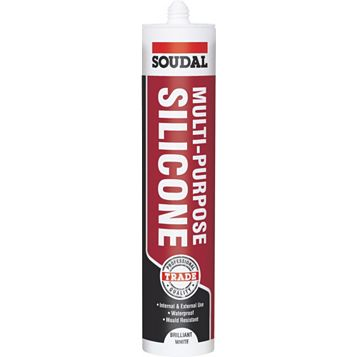 Soudal Multi-Purpose White Sealant 300 ml