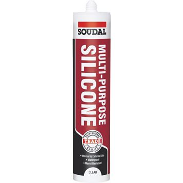 Soudal Multi-Purpose Clear Sealant 300 ml