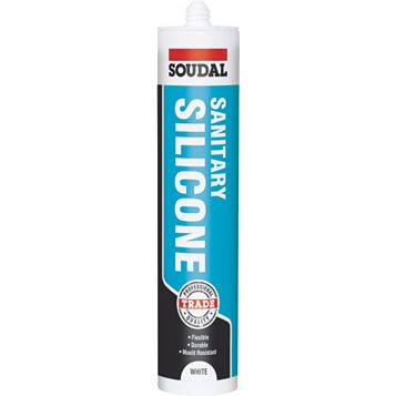 Soudal Sanitary White Sealant 300 ml