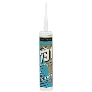 Dow Corning 791 Weatherseal Multi-Purpose White Sealant 310 ml