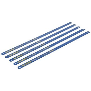 Irwin Steel Hacksaw Blade, Pack of 5