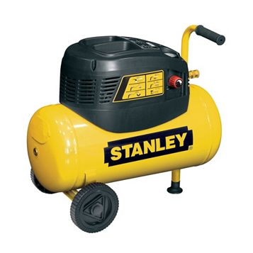 Stanley 24L Compressor 5M Spiral Hose, Blow Gun, Inflating Gun, Gravity Spray Gun & Spray Nozzle Gun 8216035SCR011