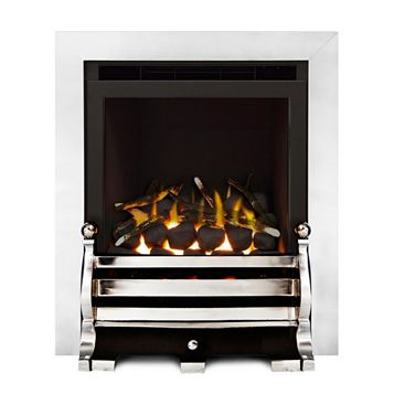 Fairfield Glass Fronted Inset Full Depth High Efficiency Gas Fire