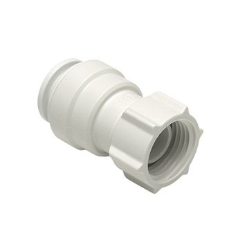 JG Speedfit Push Fit Tap Connector (Dia)15 mm, Pack of 2
