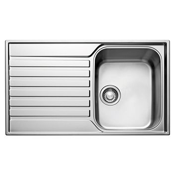 Franke Ascona 1 Bowl Stainless Steel Single Kitchen Sink