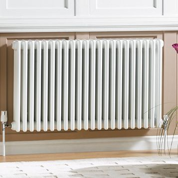 Acova 2 Column Radiator, White (W)1042mm (H)600mm