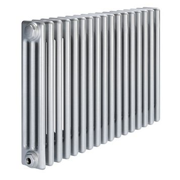 Acova 3 Column Radiator, Silver (W)812 mm (H)600 mm