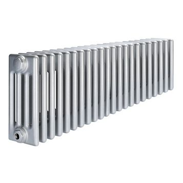 Acova 4 Column Radiator, Silver (W)1042 mm (H)300 mm