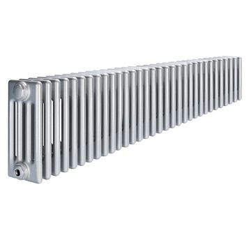 Acova 4 Column Radiator, Silver (W)1502 mm (H)300 mm