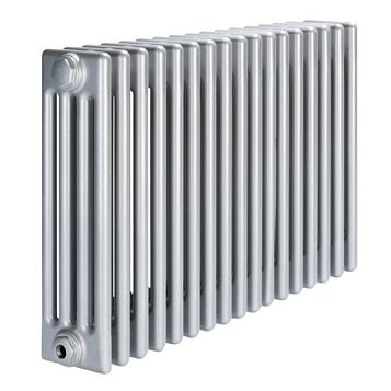 Acova 4 Column Radiator, Silver (W)812 mm (H)600 mm
